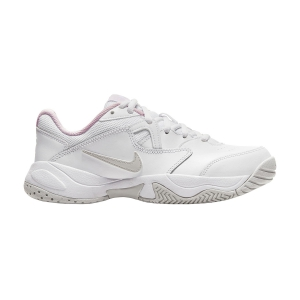 Junior Tennis Shoes Nike Court Lite 2 Girl  White/Photon Dust/Pink Foam CD0440100