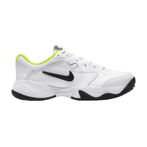 Junior Tennis Shoes Nike Court Lite 2 Boy  White/Black/Volt CD0440104