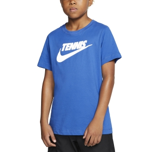 Polo y Camisetas de Tenis Nike Court Camiseta Nino  Game Royal/Black CJ7758481