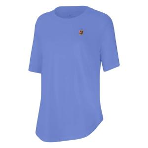 Camisetas y Polos de Tenis Mujer Nike Court Camiseta  Royal Pulse CQ2428478