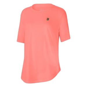 Women`s Tennis T-Shirts and Polos Nike Court TShirt  Sunblush CQ2428655