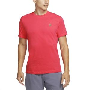 Men's Tennis Shirts Nike Court TShirt  Ember Glow BV5809850