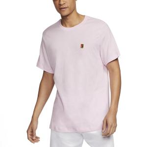Men's Tennis Shirts Nike Court TShirt  Pink Foam BV5809663