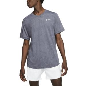 Men's Tennis Shirts Nike DriFIT Challenger TShirt  Gridiron/White BV0766015