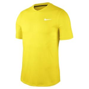 Men's Tennis Shirts Nike DriFIT Challenger TShirt  Opti Yellow/White BV0766731