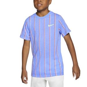 Tennis Polo and Shirts Nike DriFIT Team TShirt Boys  Royal Pulse CU0338478