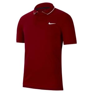 Polo Tenis Hombre Nike Dry Team Polo  Gym Red/White 939137687