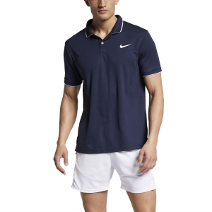 Men's Tennis Polo Nike Dry Team Polo  Obsidian/White 939137452