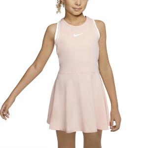 Vestidos Tennis Niñas Nike Dry Vestido Nina  Washed Coral/White AR2502664