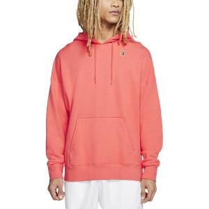 Men's Tennis Shirts and Hoodies Nike Fleece Heritage Hoodie  Ember Glow BV0760850