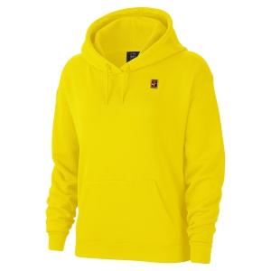 Women's Tennis Shirts and Hoodies Nike Heritage Hoodie  Opti Yellow AV0766731
