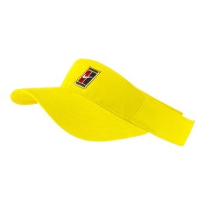 Tennis Hats and Visors Nike Heritage Logo Visor  Opti Yellow AQ8297731