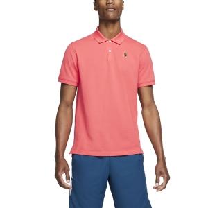 Men's Tennis Polo Nike Heritage Natural Polo  Ember Glow BQ4461850