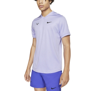 Men's Tennis Shirts Nike Rafa Challenger TShirt  Purple Pulse/Black CI9148531