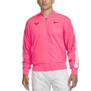 Men's Tennis Jackets Nike Rafa Jacket  Digital Pink/Gridiron AT4367679
