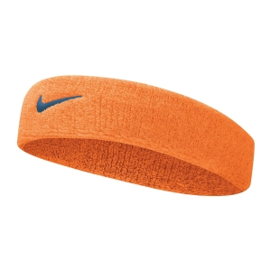 Tennis Head and Wristbands Nike Swoosh Headband  Alpha Orange/Thunderstorm N.000.1544.837.OS