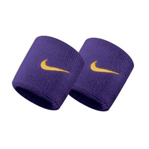 Tennis Head and Wristbands Nike Swoosh Wristbands  Field Purple/Amarillo N.NN.04.512.OS