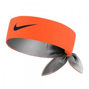 Fasce e Polsini Tennis Nike Logo Fascia  Total Orange/Gridiron N.000.3204.880.OS