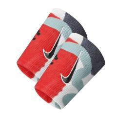 Nike Premier Double-Wide Polsini - Gridiron/Laser Crimson