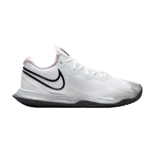 Women`s Tennis Shoes Nike Air Zoom Vapor Cage 4 HC  White/Black/Pink Foam/Pure Platinum CD0431100