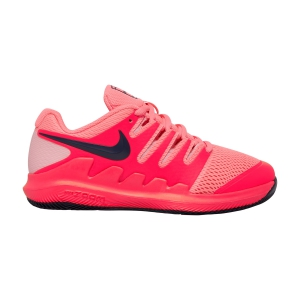 Junior Tennis Shoes Nike Vapor X Junior  Laser Crimson/Blackened Blue/Pink AR8851604