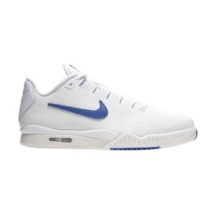 Men`s Tennis Shoes Nike Vapor X Tech Challenge Knit  White/Game Royal/Phantom BQ0130100