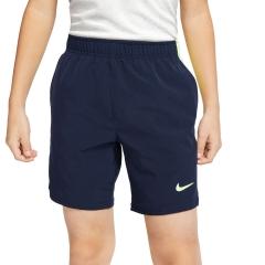 Nike Victory Flex Ace 6in Shorts Boy - Obsidian/Ghost Green