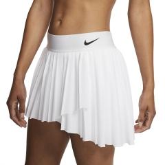 Nike Victory Pleated Falda - White/Black