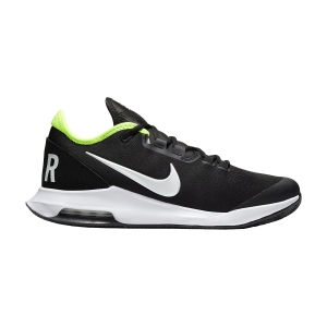 Men`s Tennis Shoes Nike Air Max Wildcard Clay  Black/White/Volt AO7350007