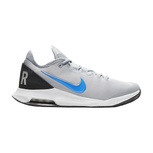 Men`s Tennis Shoes Nike Air Max Wildcard Clay  Light Smoke Grey/Blue Hero/Off Noir/White AO7350005