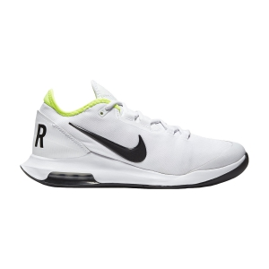 Men`s Tennis Shoes Nike Air Max Wildcard HC  White/Black/Volt AO7351104
