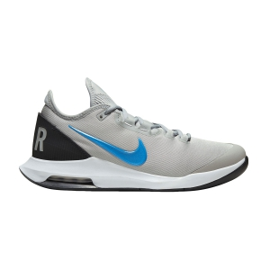 Men`s Tennis Shoes Nike Air Max Wildcard HC  Light Smoke Grey/Blue Hero/Off Noir/White AO7351005