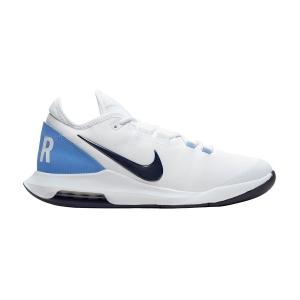 Men`s Tennis Shoes Nike Air Max Wildcard HC  White/Obsidian/Royal Pulse AO7351106