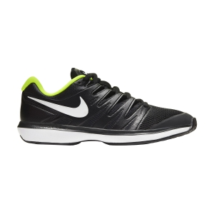 Men`s Tennis Shoes Nike Air Zoom Prestige HC  Black/White/Volt AA8020007