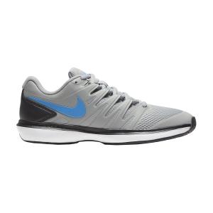 Men`s Tennis Shoes Nike Air Zoom Prestige HC  Light Smoke Grey/Blue Hero/Off Noir/White AA8020005