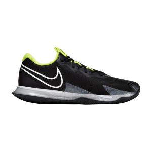 Men`s Tennis Shoes Nike Air Zoom Vapor Cage 4 Clay  Black/White/Volt/Dark Smoke Grey CD0425001