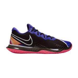 Women`s Tennis Shoes Nike Air Zoom Vapor Cage 4 HC  Black/White/Laser Crimson/Persian Violet CD0431003