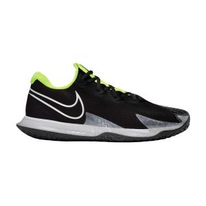 Men`s Tennis Shoes Nike Air Zoom Vapor Cage 4 HC  Black/White/Volt/Dark Smoke Grey CD0424001