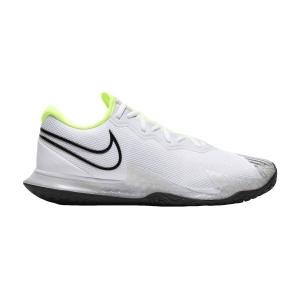 Men`s Tennis Shoes Nike Air Zoom Vapor Cage 4 HC  White/Black/Volt/Pure Platinum CD0424100