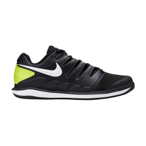 Men`s Tennis Shoes Nike Air Zoom Vapor X Clay  Black/White/Volt AA8021009