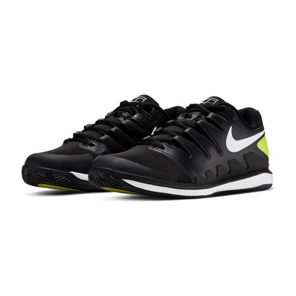 Nike Air Zoom Vapor X Clay - Black/White/Volt