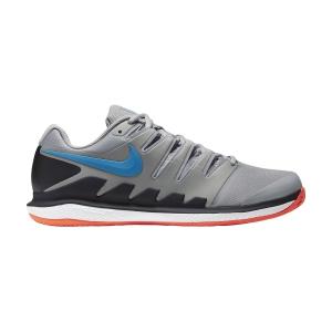 Men`s Tennis Shoes Nike Air Zoom Vapor X Clay  Light Smoke Grey/Blue Hero/Off Noir/White AA8021011