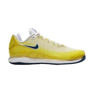 Women`s Tennis Shoes Nike Air Zoom Vapor X Knit HC  Opti Yellow/Valerian Blue/Bright Citron AR8835700