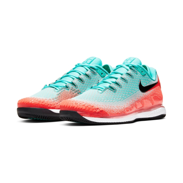 Nike Air Zoom Vapor X Knit HC Aurora GreenBlackHyper Crimson
