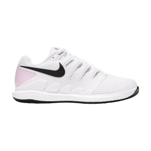 Women`s Tennis Shoes Nike Air Zoom Vapor X HC  White/Black/Pink Foam AA8027107