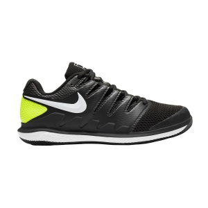 Men`s Tennis Shoes Nike Air Zoom Vapor X HC  Black/White/Volt AA8030009