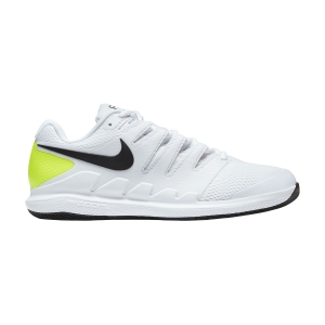 Men`s Tennis Shoes Nike Air Zoom Vapor X HC  White/Black/Volt AA8030107