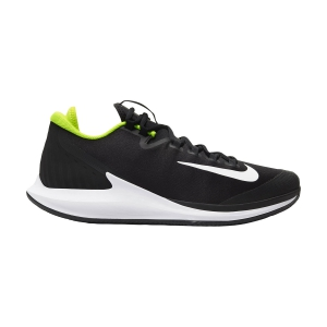 Men`s Tennis Shoes Nike Court Air Zoom Zero Clay  Black/White/Volt AA8017007