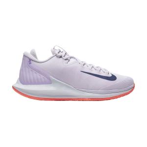 Calzado Tenis Mujer Nike Court Air Zoom Zero HC  Barely Grape/Regency Purple/Bright Mango AA8022501
