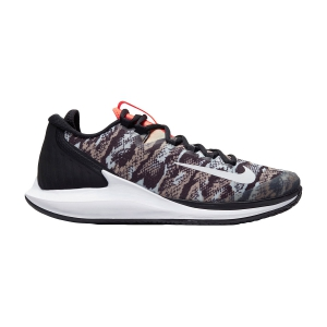 Men`s Tennis Shoes Nike Court Air Zoom Zero HC  Photon Dust/White/Black/Hyper Crimson AA8018010